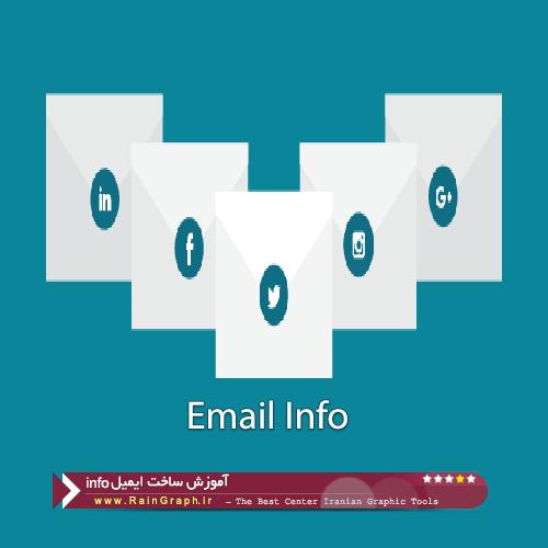 آموزش ساخت ایمیل info